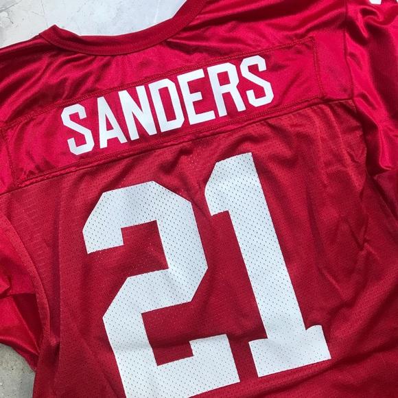 quality design 3fbbd 2e6d1 Deion Sanders San Francisco 49ers Jersey